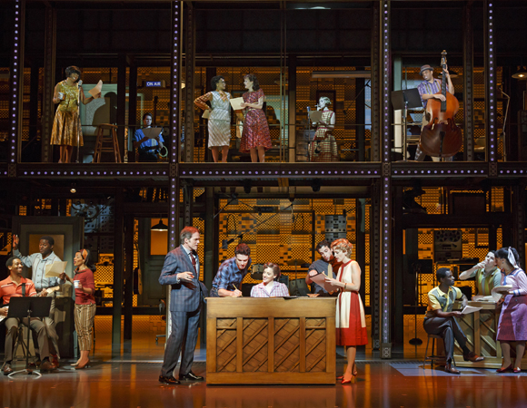 <p>The San Francisco cast of <em>Beautiful</em></p><br />(© Joan Marcus)