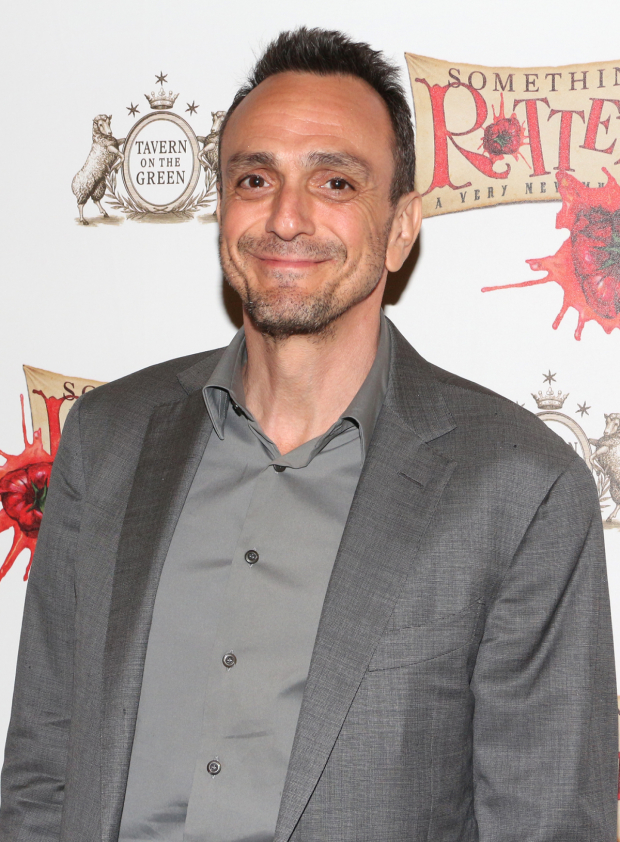 <p><em>The Simpsons</em> legend Hank Azaria gets ready to see his <em>Spamalot</em> costar Christian Borle as William Shakespeare.</p><br />(© David Gordon)