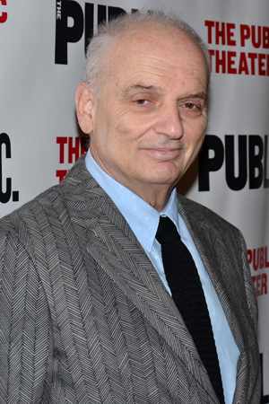 <p><em>The Sopranos</em> creator David Chase arrived at The Public just before the curtain went up.</p><br />(© David Gordon)