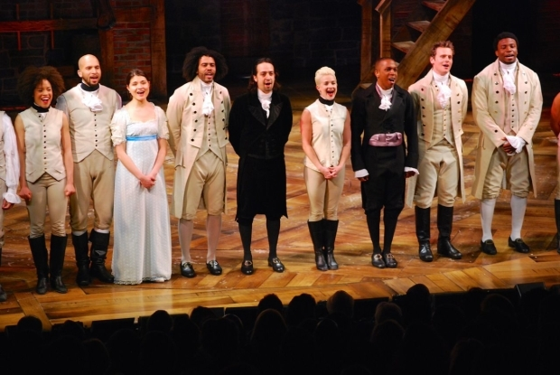 <p>The stars of <em>Hamilton</em> sing Marvin Hamlisch and Edward Kleban&#39&#x3B;s musical-theater classic &quot&#x3B;What I Did for Love.&quot&#x3B;</p><br />(© Kristin Goehring)