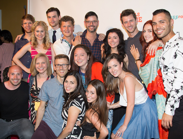 <p>The team behind the musical <em>For Tonight</em>.</p><br />(© Seth Walters)