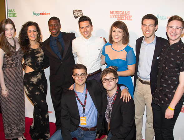 <p>The team behind the new musical <em>Fable</em>.</p><br />(© Seth Walters)