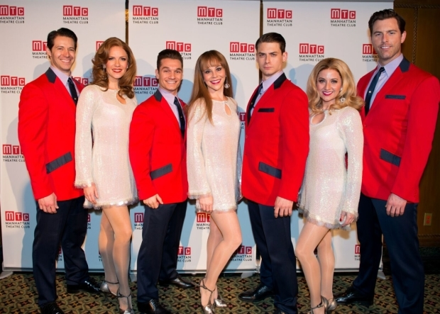 <p>The team from <em>Jersey Boys</em> is on hand to present some Frankie Valli and the Four Seasons.</p><br />(© Allison Stock)