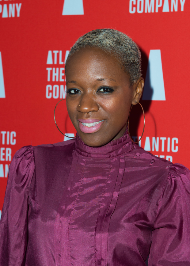 <p><em>The Voice</em> contestant Kimberly Nichole is on hand for the opening-night festivities.</p><br />(© Allison Stock)