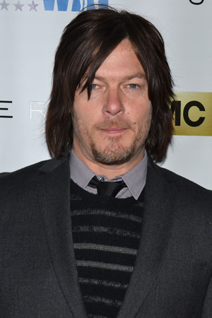 <p><em>The Walking Dead</em> star Norman Reedus is ready for a night on Broadway.</p><br />(© David Gordon)