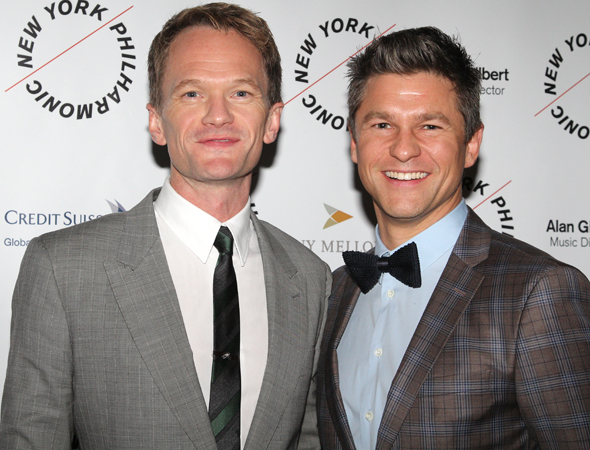 <p>Theater couple Neil Patrick Harris and David Burtka took in the show together.</p><br />(© David Gordon)