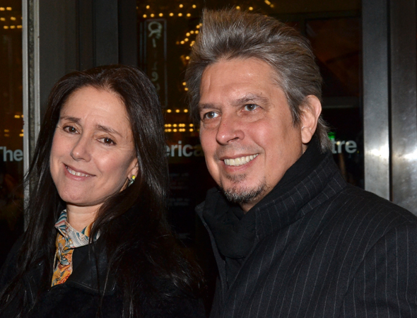 <p>Theater makers Julie Taymor and Elliot Goldenthal share date night with Roundabout Theatre Company.</p><br />(© David Gordon)