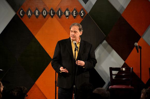 <p>TheaterMania contributor Michael Feingold was one of the evening's honorees.</p><br />(© Eduardo PATINO, NYC.)