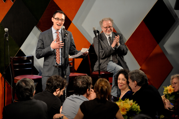 <p>TheaterMania managing editor Andy Lefkowitz speaks about Feingold's contributions.</p><br />(© Eduardo PATINO, NYC.)