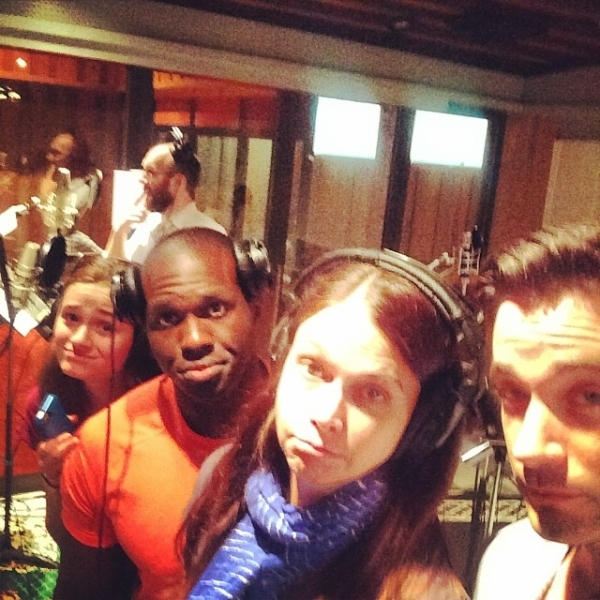 <p>This is our #isitlunchtime look. #violetalbum </p><br />(courtesy of  colindonnell)