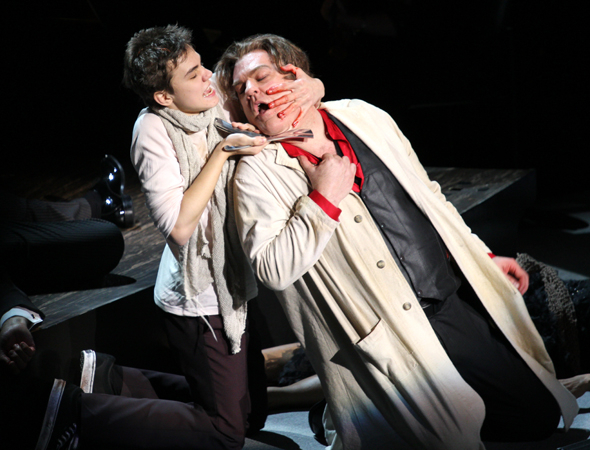 <p>Toby (Kyle Brenn) ends Sweeney&#39&#x3B;s life.</p><br />(© David Gordon)