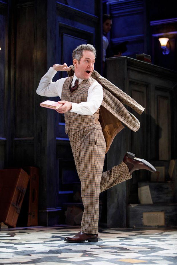 <p>Tom Hollander leads the cast of <em>Travesties</em>, directed by Patrick Marber.</p><br />(© Joan Marcus)