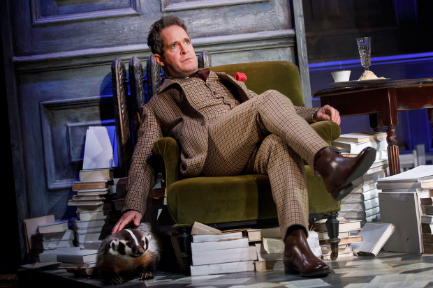<p>Tom Hollander stars as Henry Carr.</p><br />(© Joan Marcus)