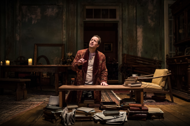 <p>Tom Hopper plays Vanya in <em>Uncle Vanya</em> at Goodman Theatre.</p><br />(© Liz Lauren)