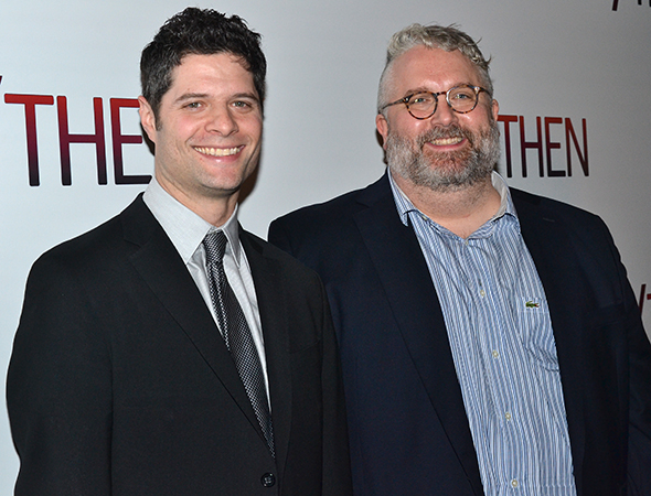 <p>Tom Kitt and Brian Yorkey are the proud writers of <em>If/Then</em>.</p><br />(© David Gordon)