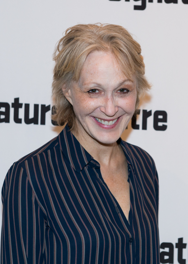 <p>Tony Award nominee and Drama Desk Award winner Jan Maxwell made an appearance.</p><br />(© Allison Stock)
