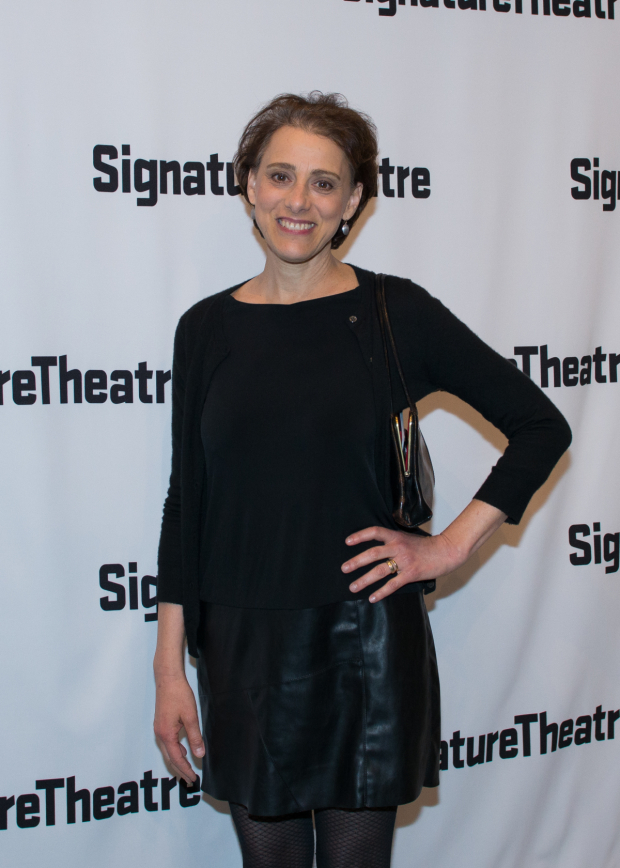 <p>Tony Award nominee Judy Kuhn smiles for the camera.</p><br />(© Allison Stock)