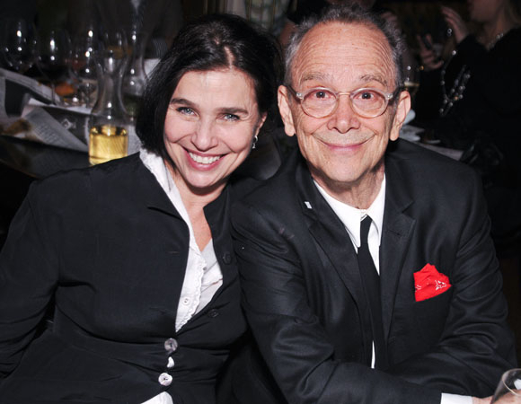 <p>Tony Award winner Joel Grey with artist Sheila Berger.</p><br />(© Jenny Anderson)