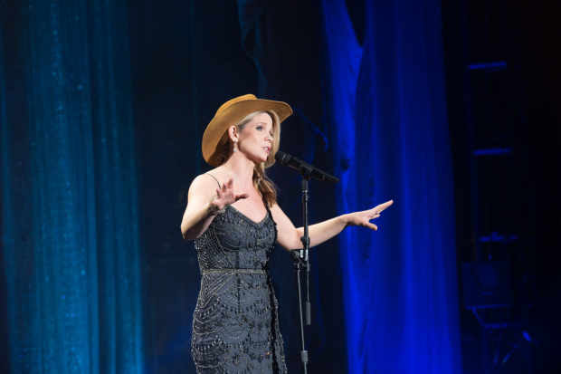 <p>Tony Award winner Kelli O&#39&#x3B;Hara entertained the crowd.</p><br />(© Kelly Kollar)