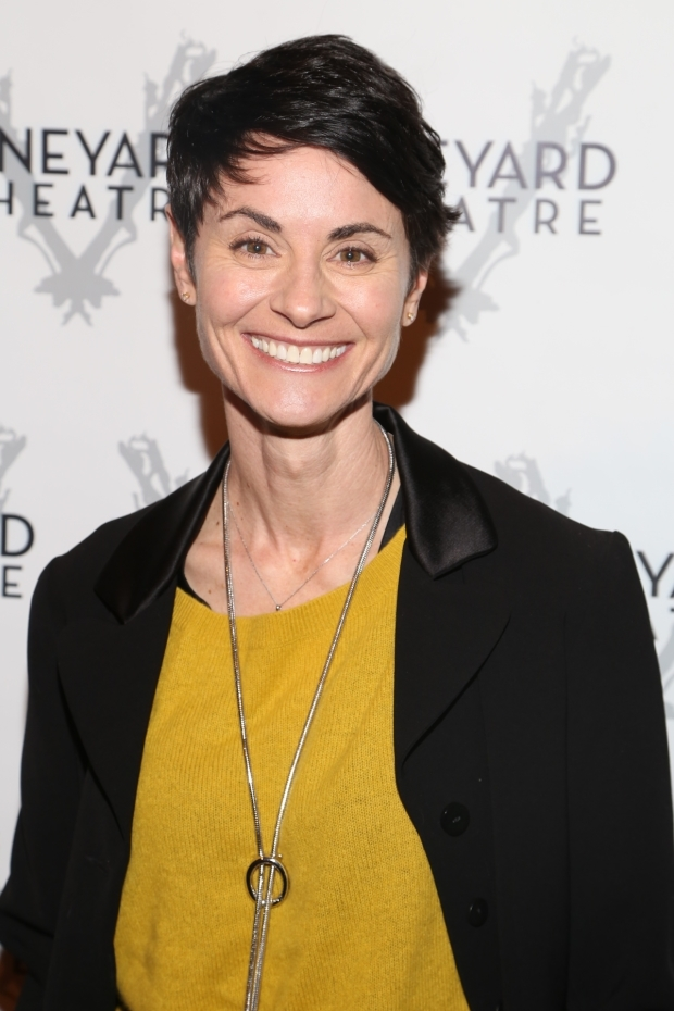 <p>Tony nominee Beth Malone had a big smile throughout the evening.</p><br />(© Tricia Baron)