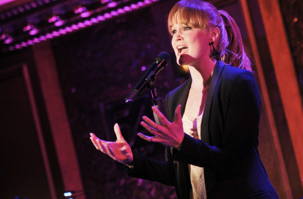 <p>Tony nominee Kate Baldwin (<em>Big Fish</em>) performed in the musical comedy <em>She Loves Me</em> at Williamstown in the summer of 2008.</p><br />(© Jenny Anderson)