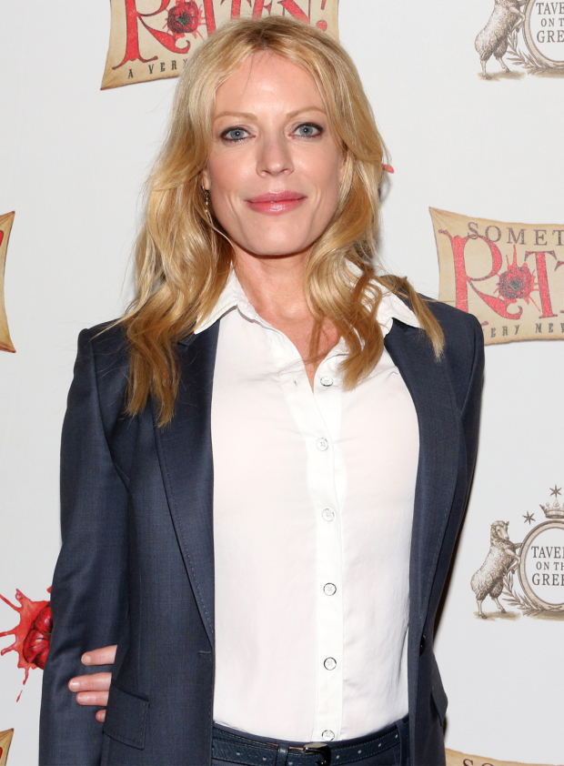 <p>Tony nominee Sherie Rene Scott gets ready to watch her Broadway pals in <em>Something Rotten!</em></p><br />(© David Gordon)