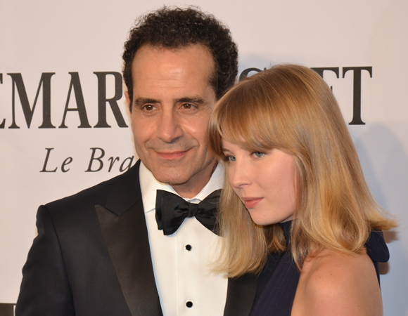 <p>Tony Shalhoub earned a nomination for her performance as playwright George S. Kaufman in James Lapine&#39&#x3B;s new play, <em>Act One</em>.</p><br />(© David Gordon)