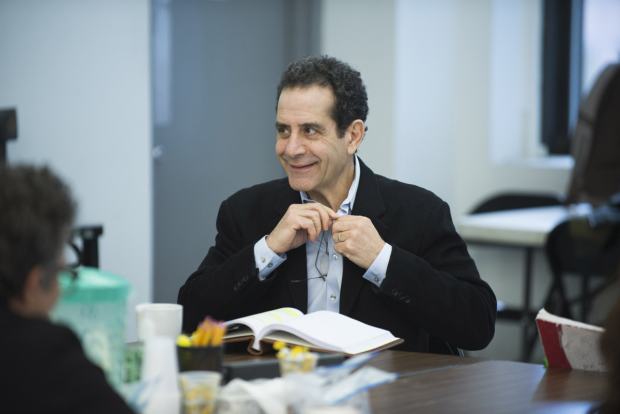<p>Tony Shalhoub in rehearsals for <em>The Price</em> ahead of previews beginning February 16.</p><br />© Jenny Anderson