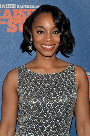 <p>Tony winner Anika Noni Rose returns to Broadway to play Beneatha Younger, Walter Lee&#39&#x3B;s sister.</p><br />(© David Gordon)