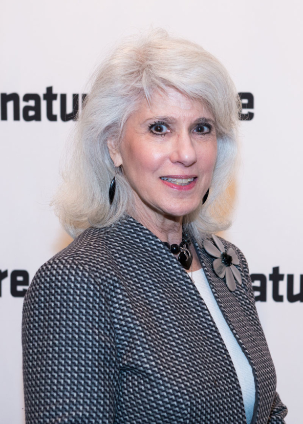 <p>Tony-winning producer Jamie deRoy stopped for a photo.</p><br />(© Allison Stock)