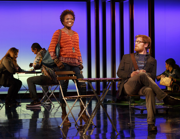 <p>Tony winner LaChanze plays Kate, and Anthony Rapp plays Lucas in <em>If/Then</em>.</p><br />Joan Marcus