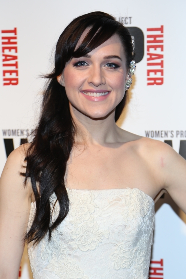 <p>Tony winner Lena Hall hosted the event.</p><br />(© Tricia Baron)