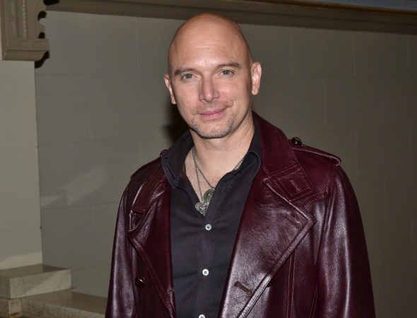 <p>Tony winner Michael Cerveris appeared as Angel Rick.</p><br />(© David Gordon)