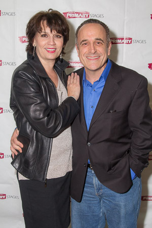 <p>Tony-winning actress Beth Leavel and actor Adam Heller loved the show.</p><br />(© Seth Walters)