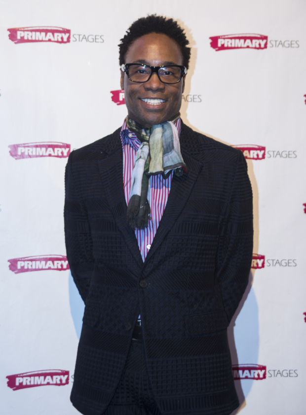 <p>Tony-winning <em>Kinky Boots</em> star Billy Porter was on hand to help serenade the honorees.</p><br />(© Allison Stock)