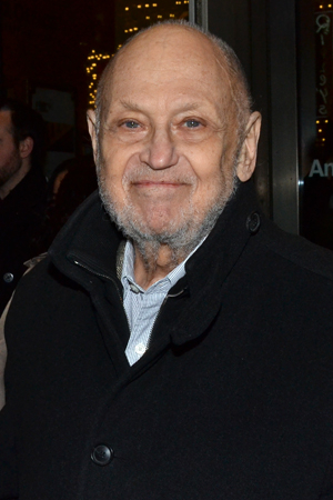 <p>Tony-winning songwriter Charles Strouse is delighted to be at the opening night of <em>Machinal</em>.</p><br />(© David Gordon)