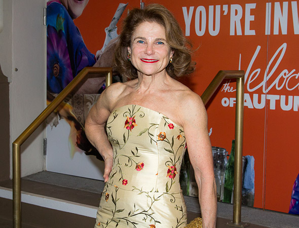 <p>Tovah Feldshuh was also on hand for the performance.</p><br />(© Seth Walters)