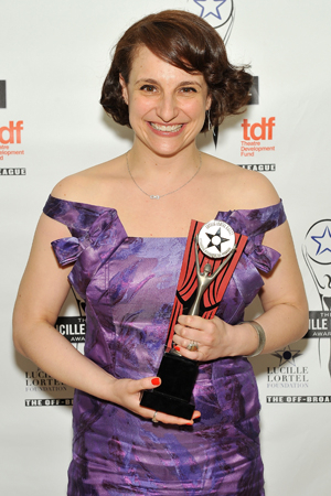 <p>Tracee Chimo took home the Outstanding Lead Actress in a Play honor for <em>Bad Jews</em>.</p><br />(© Getty Images)