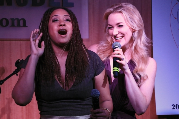 <p>Tracie Thoms and Betsy Wolfe as &quot&#x3B;lesbians from next door&quot&#x3B; Dr. Charlotte and Cordelia.</p><br />(© Tricia Baron)