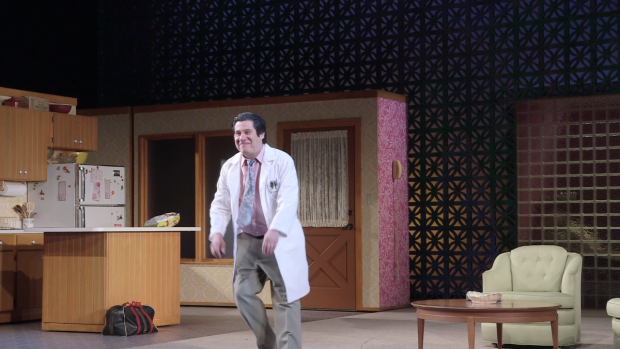 <p>Triney Sandoval plays Dr. Wally in <em>Marvin&#39&#x3B;s Room</em>.</p><br />(© David Gordon)