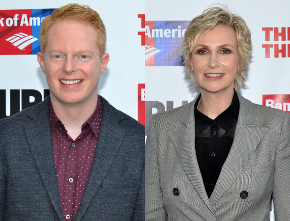 <p>TV favorites Jesse Tyler Ferguson and Jane Lynch opened the second act with their version of &quot&#x3B;Sing.&quot&#x3B;</p><br />(©  David Gordon)