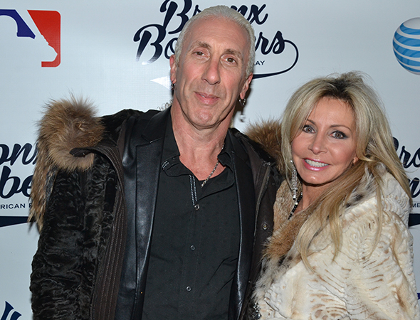 <p>Twisted Sister front man Dee Snider and his wife, Suzette, bring a touch of punk rock to every opening night they attend.</p><br />(© David Gordon)