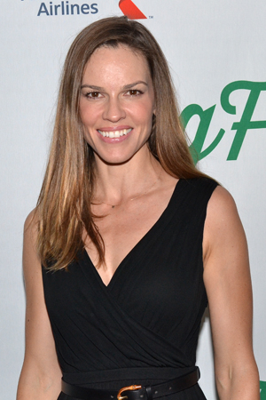 <p>Two-time Academy Award winner Hilary Swank is ready for a Broadway opening night.</p><br />(© David Gordon)