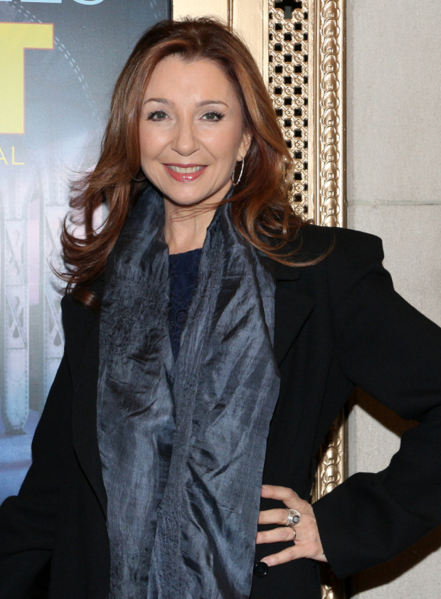 <p>Two-time Tony winner Donna Murphy is thrilled to see Chita Rivera and Roger Rees on Broadway.</p><br />(© David Gordon)