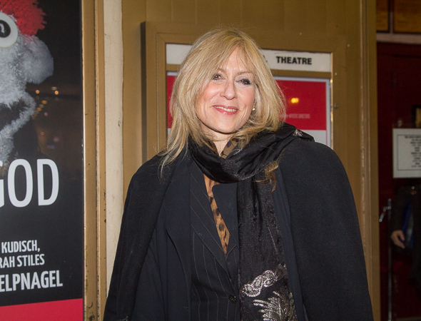 <p>Two-time Tony winner Judith Light, who last appeared on MCC&#39&#x3B;s stage in 2005&#39&#x3B;s <em>Colder Than Here</em>, enjoys a night out at the theater.</p><br />(© Seth Walters)