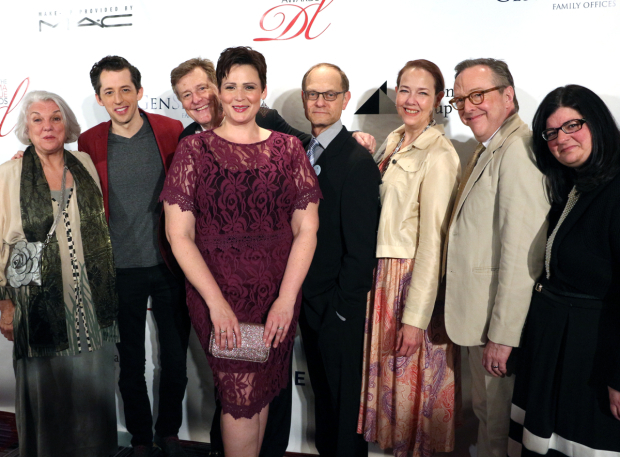 <p>Tyne Daly, Josh Grisetti, Brian Hargrove, Lisa Howard, David Hyde Pierce, Harriet Harris, Edward Hibbert, and Barbara Anselmi — <em>It Shoulda Been You</em></p><br />(© David Gordon)
