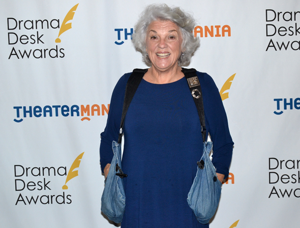 <p>Tyne Daly — Outstanding Actress in a Play nominee for <em>Mothers and Sons</em>.</p><br />(© David Gordon)