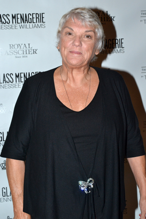 <p>Tyne Daly smiles for the camera.</p><br />(© David Gordon)