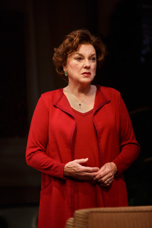 <p>Tyne Daly stars as grieving mother Katharine Gerard in Terrence McNally&#39&#x3B;s <em>Mothers and Sons</em>.</p><br />(© Joan Marcus)