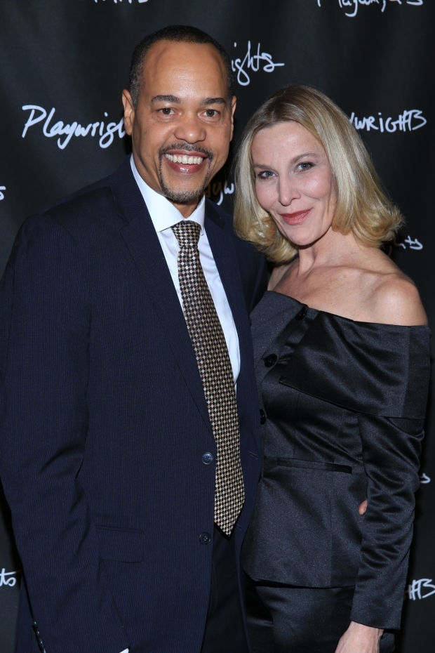 <p>Tyrone Mitchell Henderson and Lusia Strus appear in <em>Rancho Viejo</em>.</p><br />(© Tricia Baron)